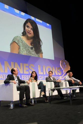 Selena Gomez at the Cannes Lions Seminar…