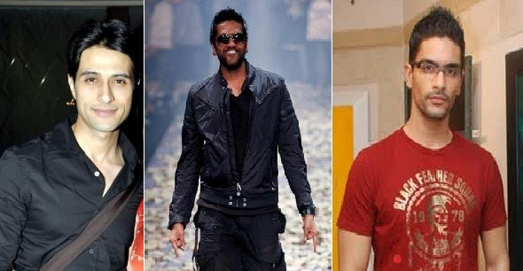 Actor Apporva Agnihotri (L), designer Rocky S (C) and Angad Bedi (R) among the 46 tested positive for drug.