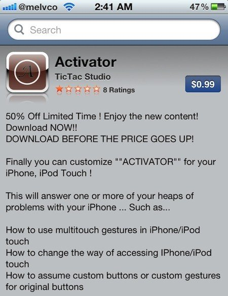 Fake Activator App Hits App Store