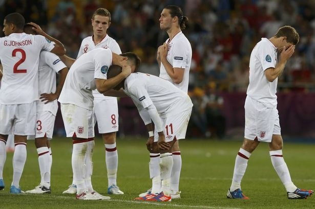 England lost the Euro 2012 quarter-final to Italy after a penalty shoot-out (Reuters)