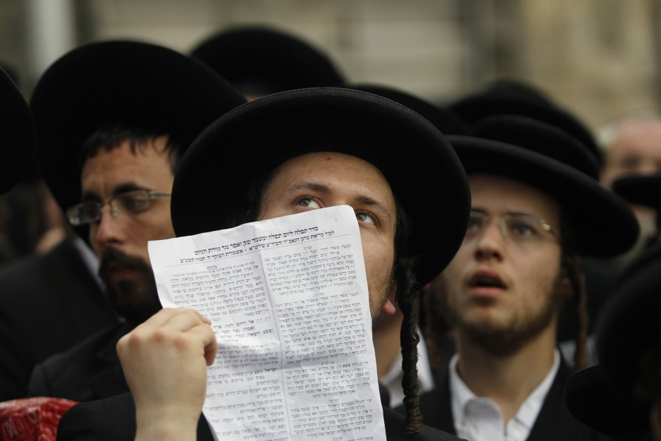 Haredi Jews In Israel: Ultra-Orthodox Haredi Jews Protest Against Conscription To