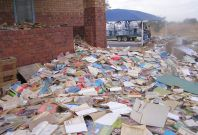 Nelson Mandela's Biography among Hundreds of Destroyed Textbooks in South Africa