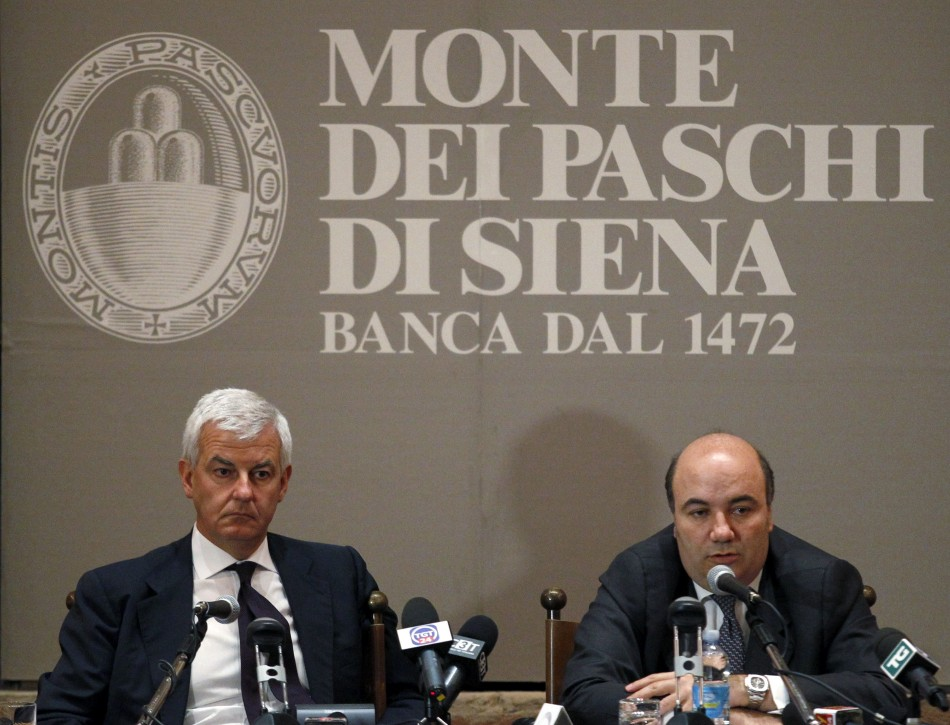 Banca Monte dei Paschi di Siena Goes to State For Funding Aid