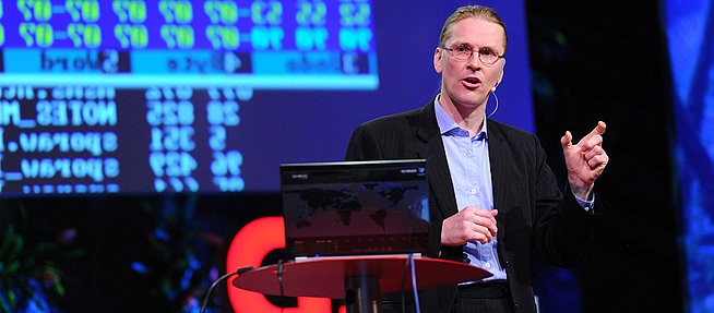 Mikko Hypponen, F-Secure security chief, speaking at TED last year.
