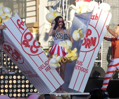 Cast member and singer Katy Perry performs at the premiere of quotKaty Perry Part of Mequot in Hollywood