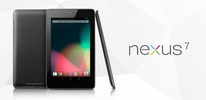 Google IO Nexus 7 tablet android Jelly bean pc