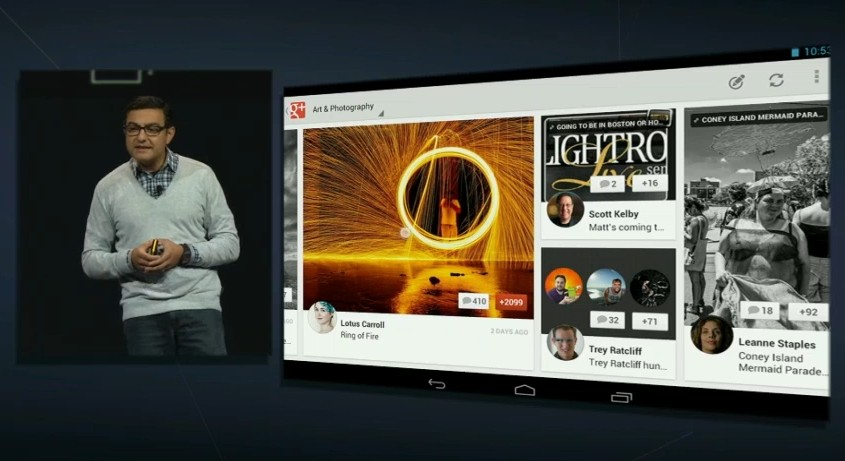 google plus tablet