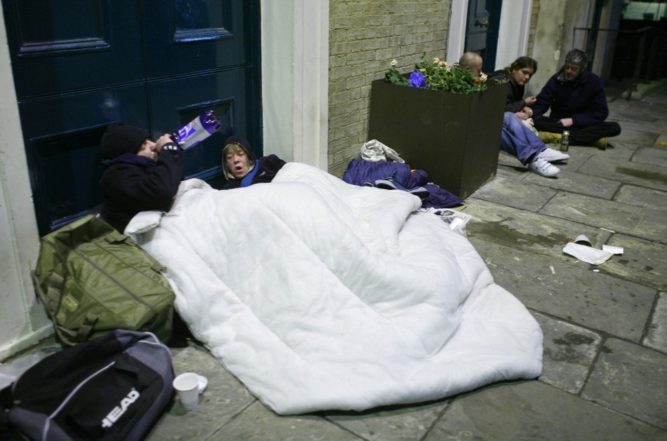 Research has identified areas where people are most at risk of ending up homeless