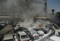 A strong explosion rocked the Syrian capital of Damascus