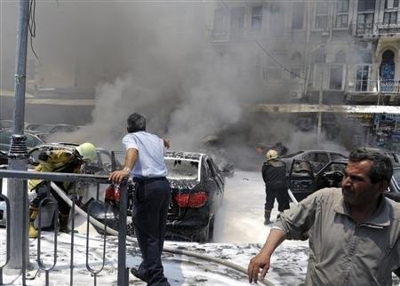 Syrian bomb blast