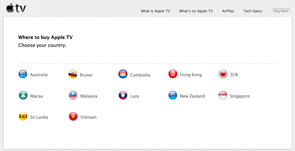 Apple TV Launches in 9 New Countries