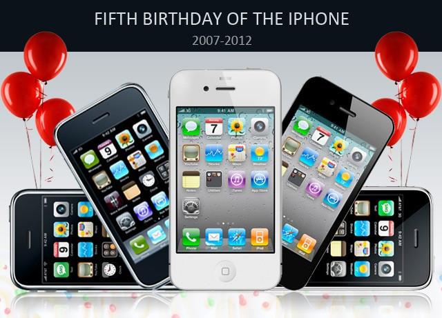 iPhone 5th Birthday