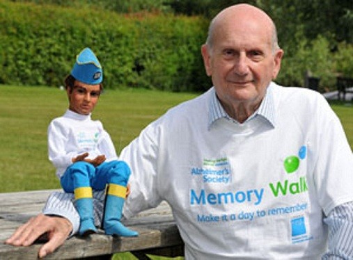 Gerry Anderson has revealed he has diagnosed with Alzheimer's at a charity walk launch. (alzheimers.org)