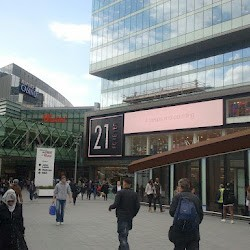 A stabbing at the Westfield shopping centre in Stratford, east London has left one person dead and two more injured (GoogleMaps)
