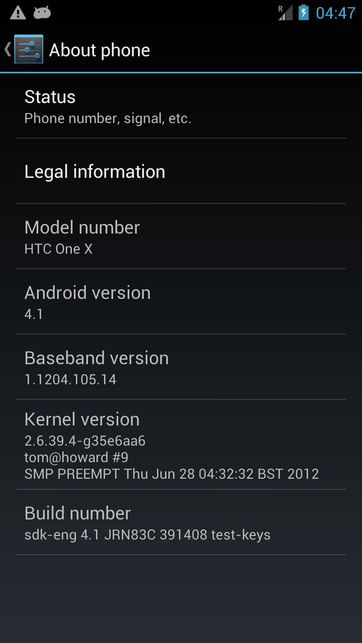 Android 4.1 Jelly Bean ROM Released for HTC One X [VIDEO]