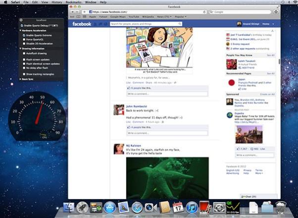 Retina MacBook Pro Graphics - Browser Benchmark