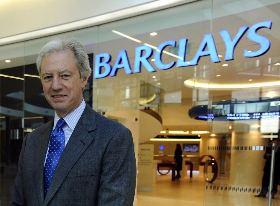 Barclays chief Marcus Agius