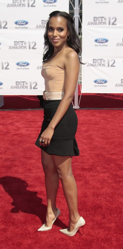 Kerry Washington at the 2012 BET Awards in Los Angeles