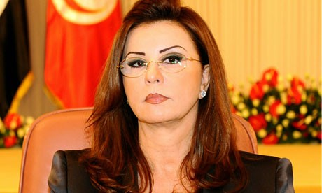 Leila Trabelsi, wife of former Tunisan president Zine El Abidine Ben Ali
