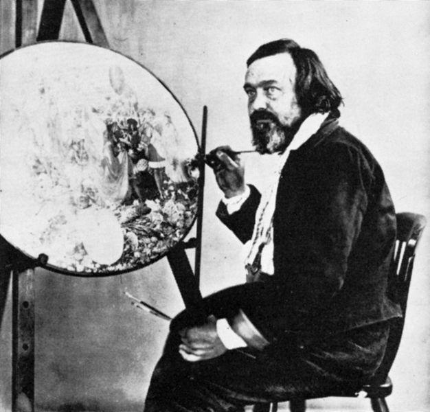 Rare Portrait by Infamous Artist Richard Dadd Goes Under Hammer