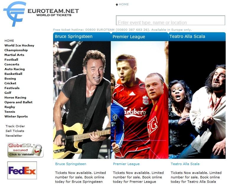 London Olympics 2012 Metropolitan Police Warns of Euroteam Web Ticket Fraud