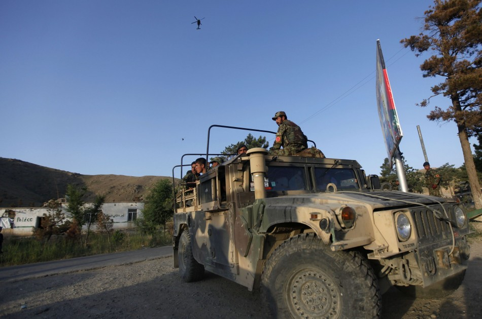Afghan Nato troops
