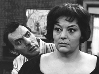 Eric Sykes and Hattie Jacques