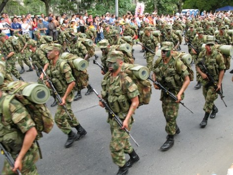 Colombia's military forces