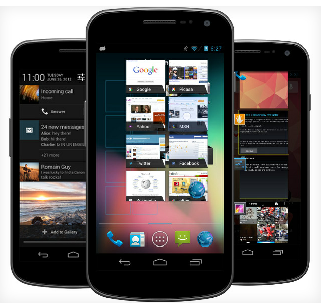 Samsung Galaxy S Android 4.1 Jelly Bean