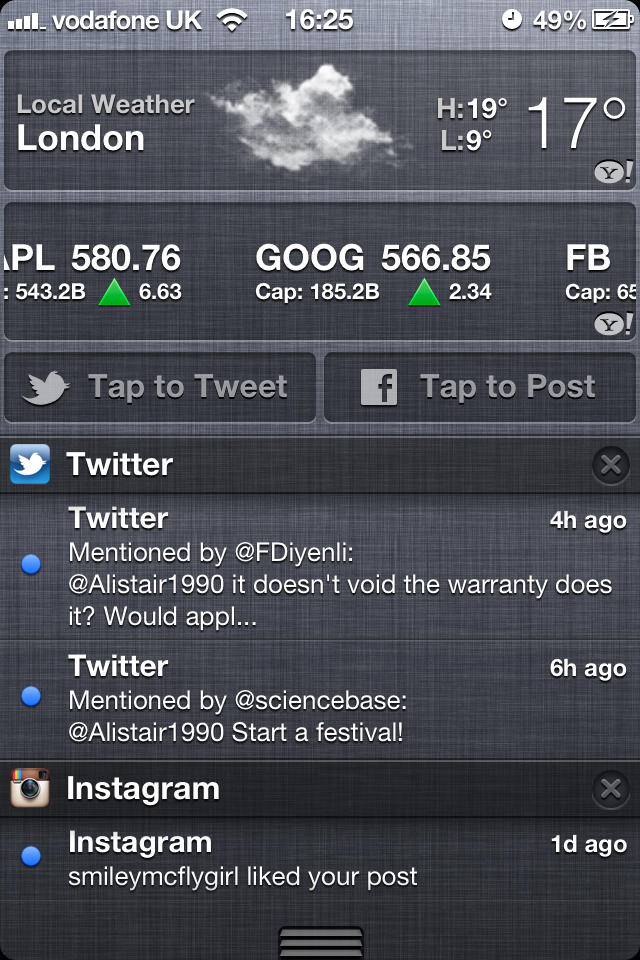 iOS 6 Notifications