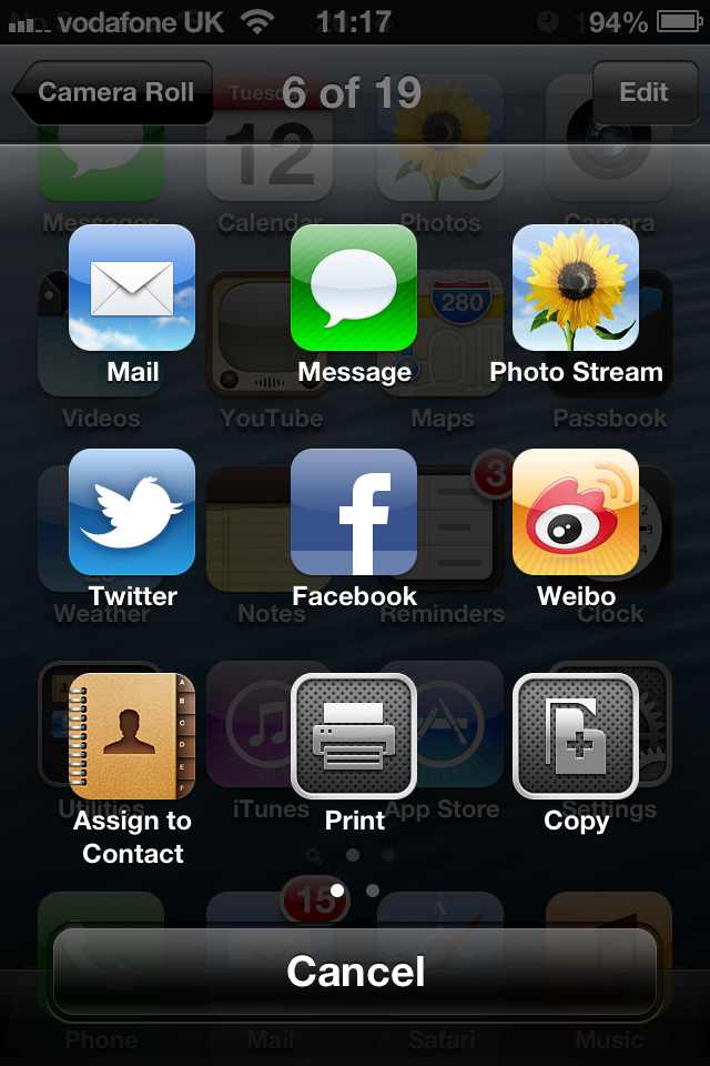 iOS 6 Social Networking