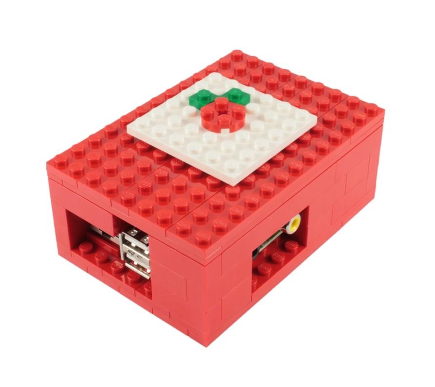 Buy Raspberry Pi Lego Case Biz Daily Brick kit