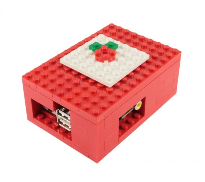 Buy Raspberry Pi Lego Case Biz Daily Brick kit