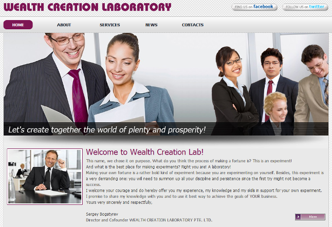 Wealth Creation Labratory iOs malware