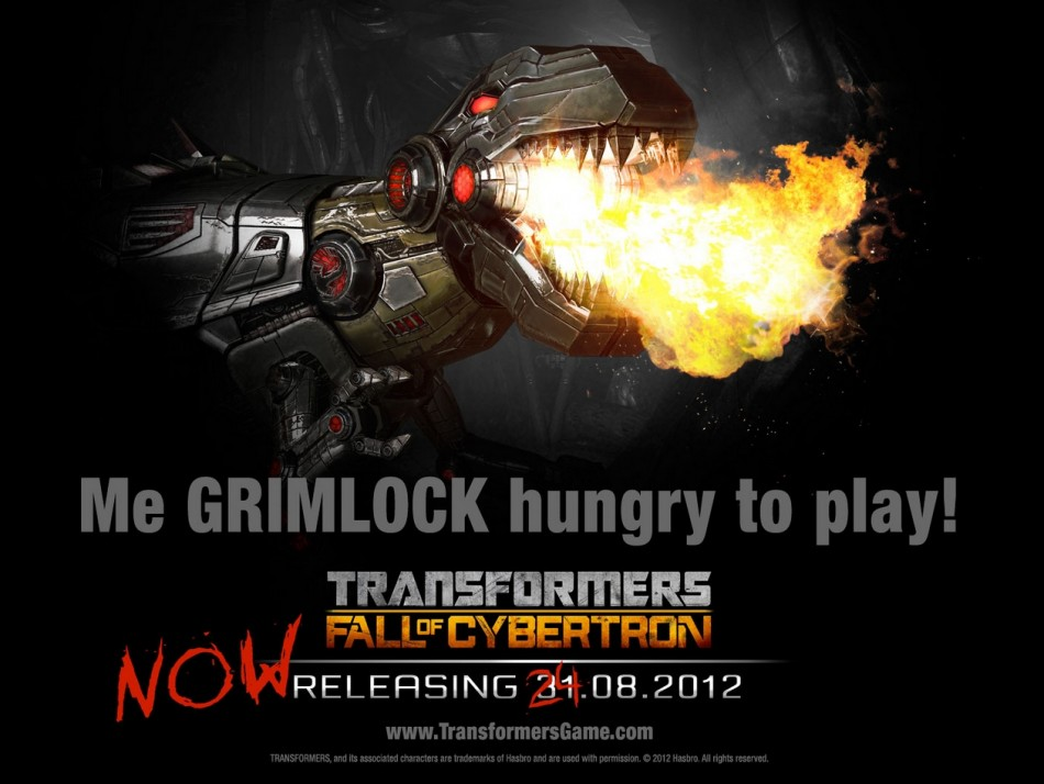 Transformers Fall of Cybertron UK Release Date 31 August 2012 date change