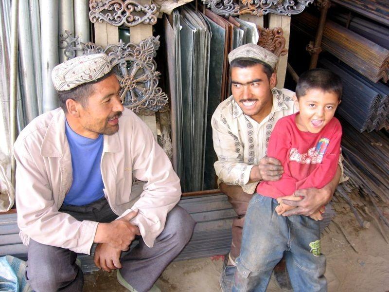 Uighurs in western China