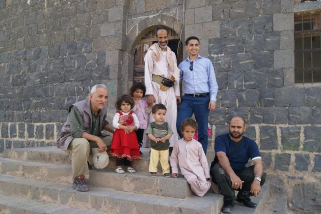 Habib Anam is to the right. Shaikh Almarani is next to Habib. His house was the first house to be bombed by the special guards force.