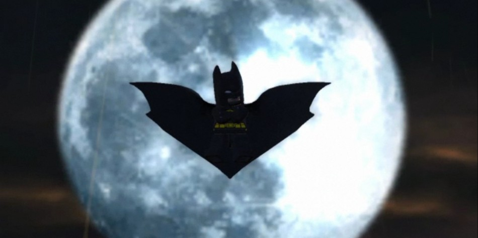 Lego Batman 2 DC Superheroes Review moon shot