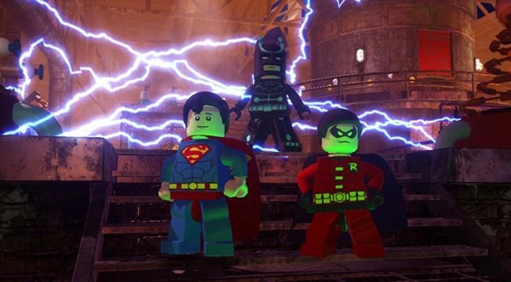 Lego Batman 2 DC Superheroes Review Batman Robin Superman