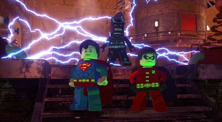 Lego Batman 2 DC Superheroes Review Batman Robin Superman