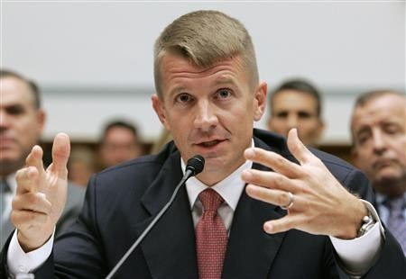 Blackwater founder Erik Prince