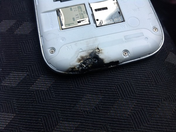 "The Samsung Tomorrow has now posted a statement which claims that an ""external energy source"" was the cause for the device's heat-related damage."