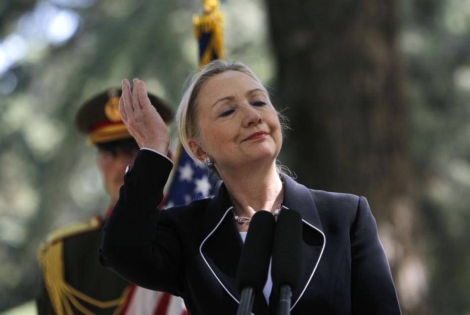 Clinton in Afghanistan