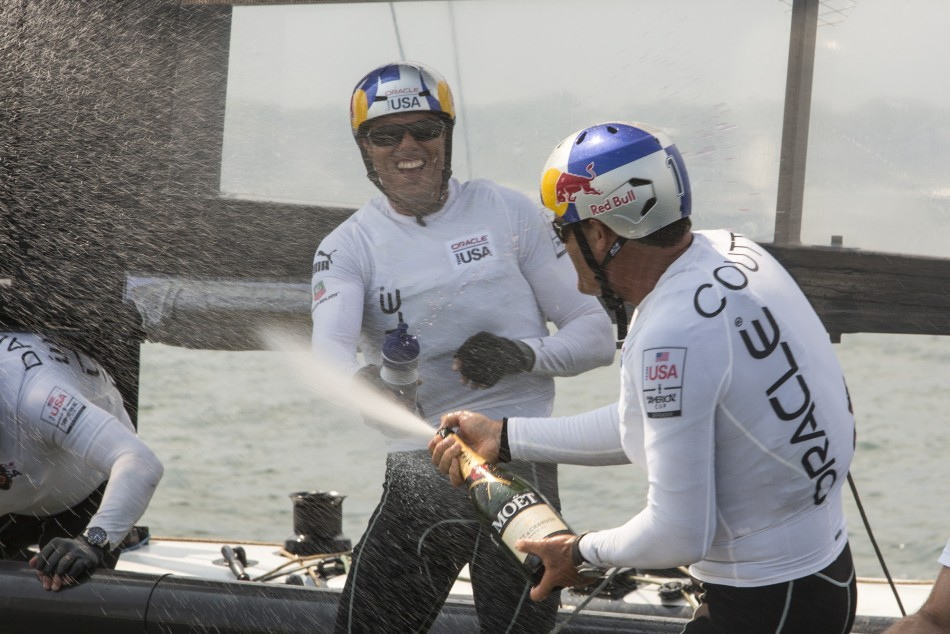 Moët & Chandon Celebrates Return of the America's Cup in Newport