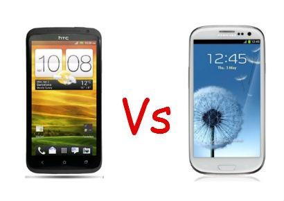HTC One X vs Samsung Galaxy S3
