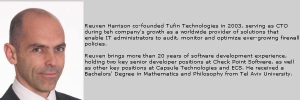 Reuven Harrison Tufin Technologies
