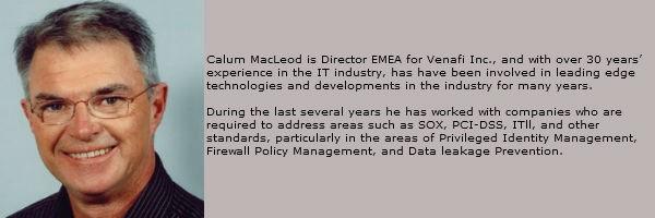 Calum MacLeod Venafi