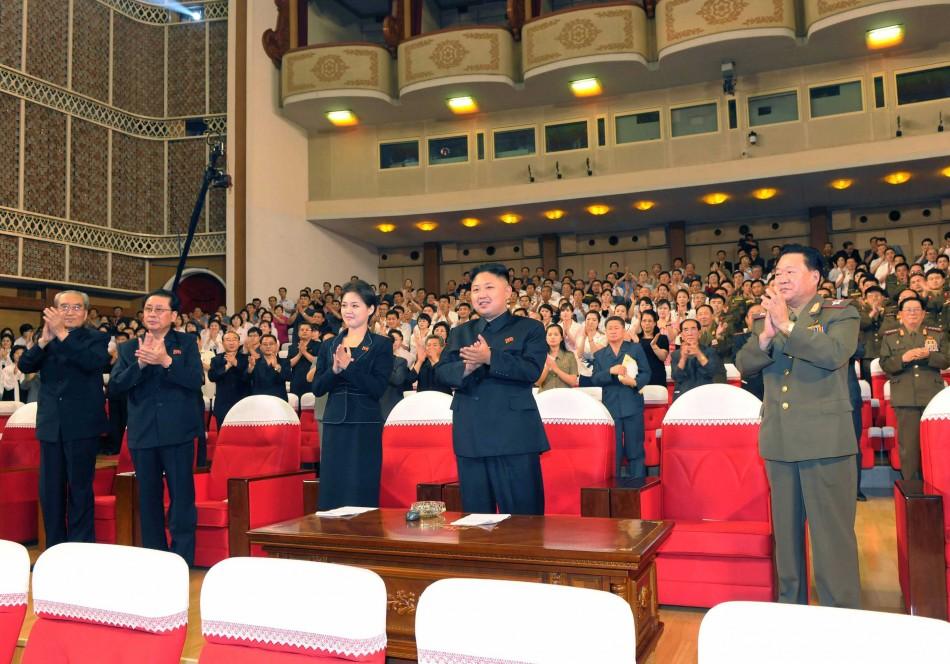 Kim Jong-un and the mystery woman