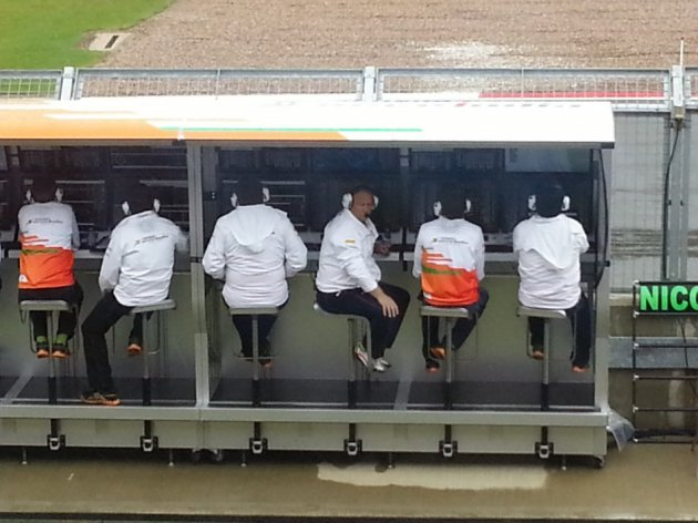 Force India behind-the-scenes