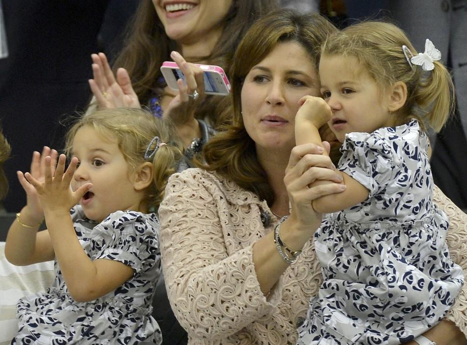 The wife of Roger Federer